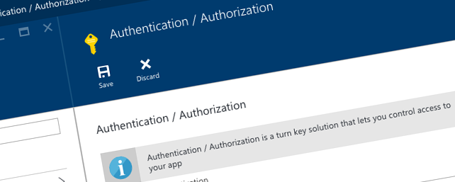 Configuring multi-tenant authentication with Azure App Service authentication options
