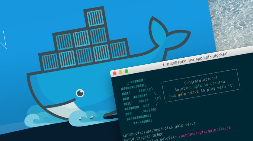 SharePoint Framework Docker image for your team