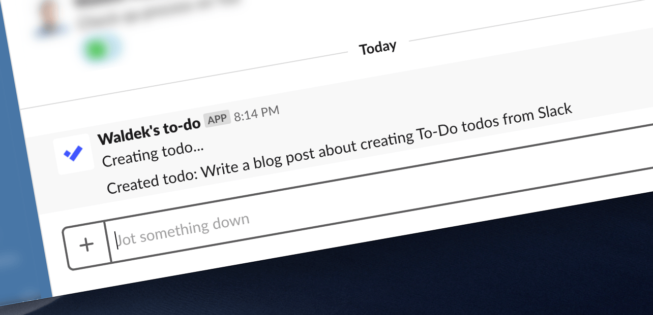 Create Microsoft To-Do todos from Slack with Microsoft Flow