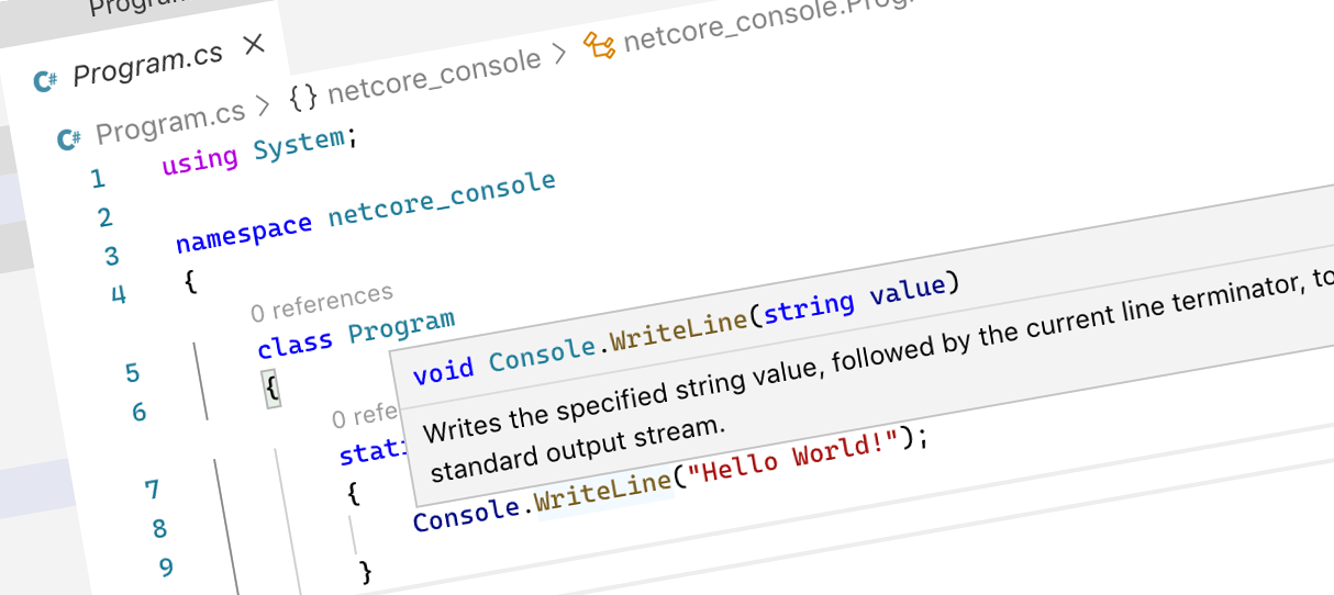 Fixing issues with building C# solutions in .NET Core using Visual Studio Code