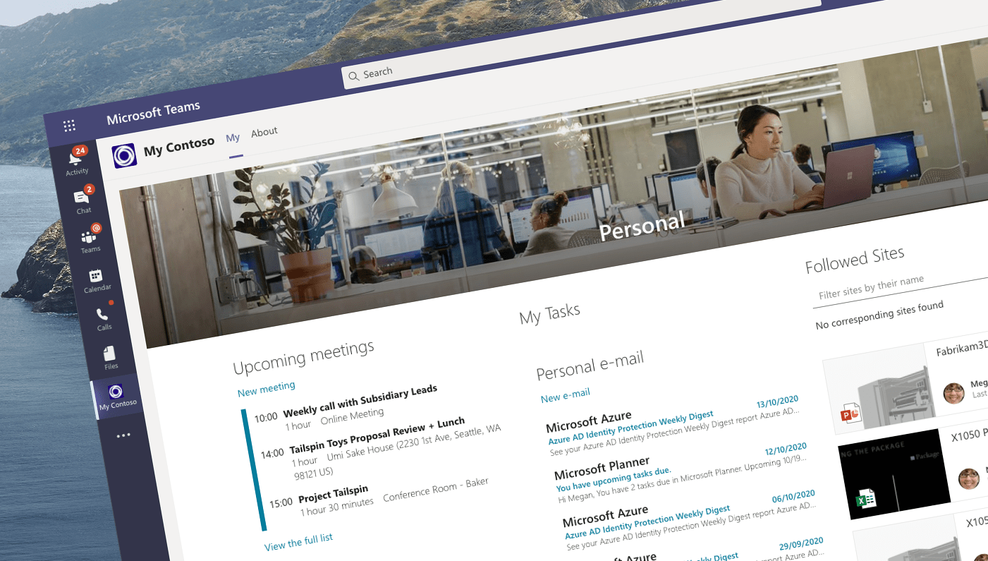 Build a Me-experience in Microsoft Teams