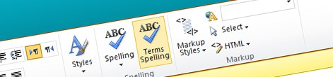Spell checking brand names with Mavention Spell Check