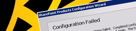 Products Configuration Wizard failed and you have no clue why