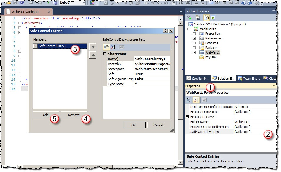 Easier maintaining Web Parts with Visual Studio 2010