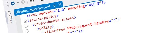 Inconvenient clientaccesspolicy.xml and Host Named Site Collections