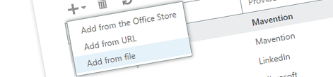 Inconvenient installing Apps for Outlook from Organization Store