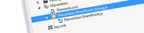 Minifying JavaScript and CSS files in Visual Studio 2012 with Mavention SharePoint Assets Minifier for Visual Studio 2012
