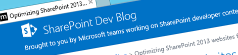 Optimizing SharePoint 2013 websites for mobile devices