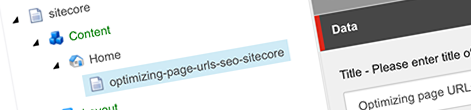 Optimizing page URLs for SEO in Sitecore