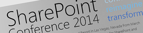 Speaking at SharePoint Conference 2014