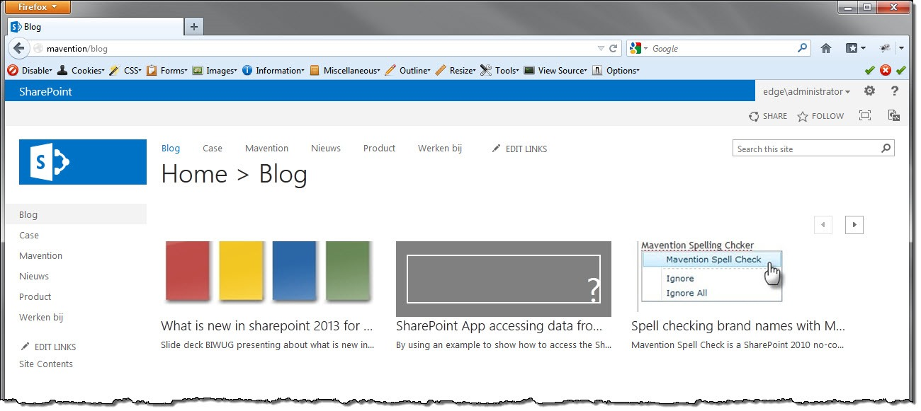 Using server-side rendering with Content Search Web Part in