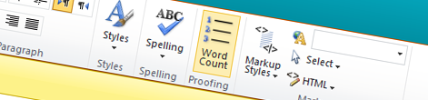 Counting words with Mavention Word Count