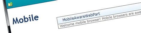 Inconvenient SharePoint 2010 mobile redirect
